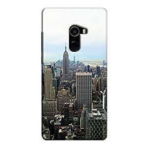 Cover It Up - New York Sky Mi Mix 2 Hard Case