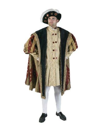 Men's 16th Century King Henry Theater Costume, -