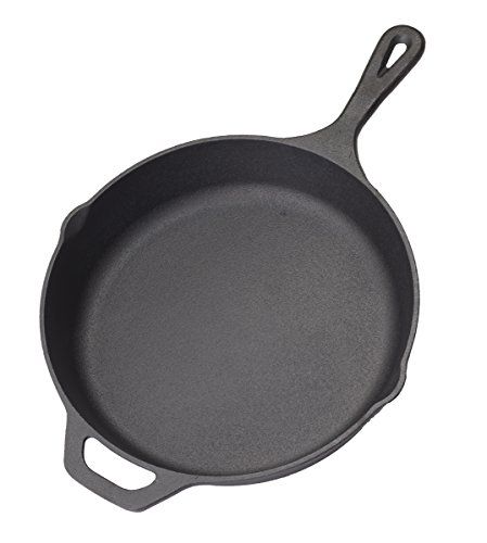 Industrial Kitchen Pans: Pre-Seasoned Cast Iron Skillet – 12.5 Inch