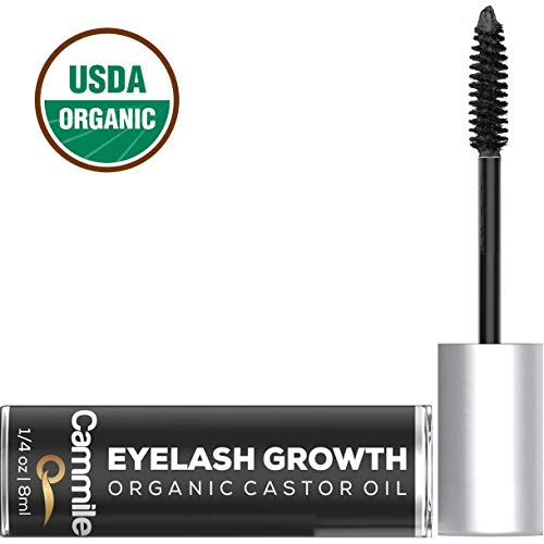 - Eyelash Growth - Organic Castor Oil - Grow Longer Lashes & Fuller Eyebrows - Use As An Eyelash Serum - A Natural Solution for Eyebrow and Eyelash Regrowth!