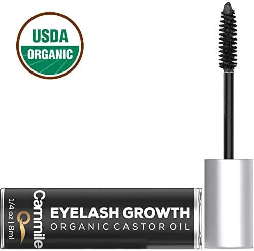 Eyelash Growth - Organic Castor Oil - Grow Longer Lashes & Fuller Eyebrows - Use As An Eyelash Serum - A Natural Solution for Eyebrow and Eyelash Regrowth!