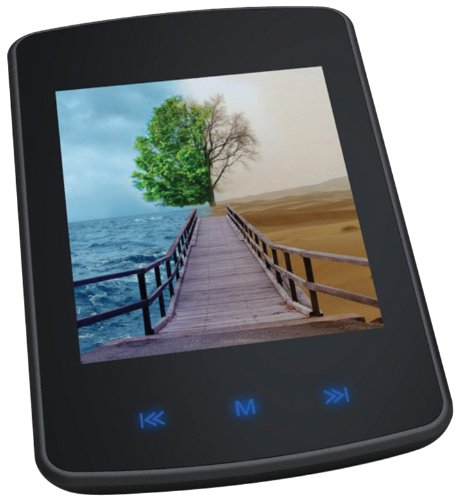 GPX, Inc.  Digital Media Player with 2.8 Inch Touch Screen a