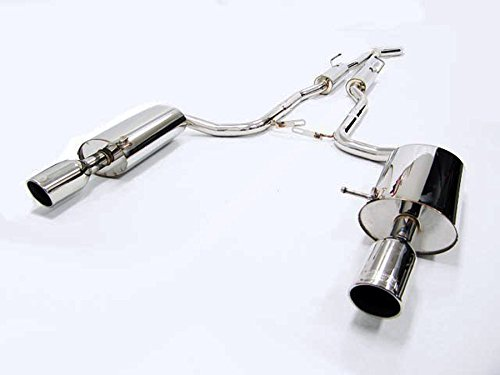 BO OBX Performance Catback Dual Exhaust System 05-08 Audi A4 Quattro 2.0T B7 A/T