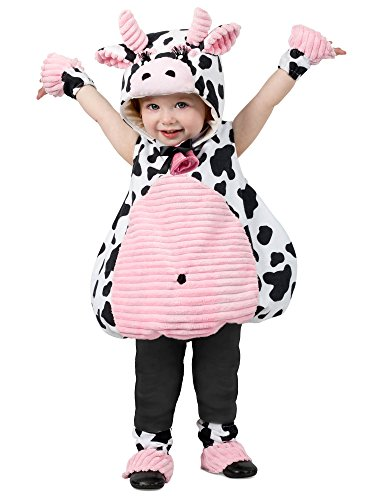 Princess Paradise Girls' Little Pink Belly Cow, As As Shown, -
