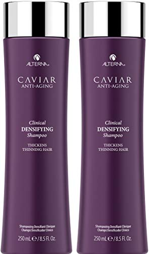 CAVIAR Anti-Aging Clinical Densifying Shampoo, 8.5-Ounce (2-Pack) - Red Clover Blood Cleanser