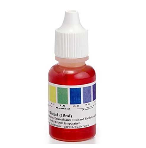 A2O WATER PH LIQUID TESTER, WIDE RANGE 4.0 - 10.0 (125-150 tests) -