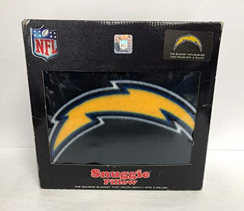 NFL San Diego Chargers SNUGGIE Blanket w Sleeves Folds into a Pillow 68 x 55 NEW - Blanket Chargers