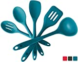 StarPack Basics Silicone Kitchen Utensil Set (5 Piece Set, 10.5