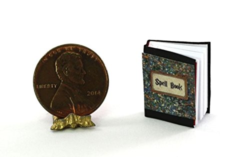 Dollhouse Miniature 1:12 Scale Halloween Witch's Spell Book -