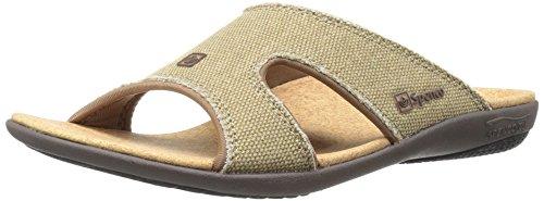 Spenco Kholo Womens Sandals - Straw /Java/Cork - 9 B(M) US