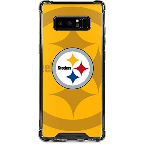 (Skinit Pittsburgh Steelers Double Vision Galaxy Note 8 Clear Case - NFL - Skinit Clear Case - Transparent Galaxy Note 8 Cover)