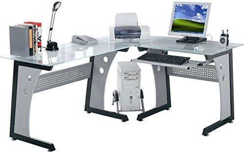 YELLOO - Escritorio de Mesa de Oficina con diseño Angular de ...