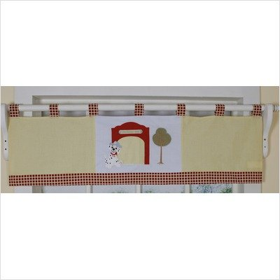 GEENNY Window Valance, Boutique Fire Truck