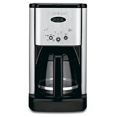 Cuisinart Brew Central DCC-1200 12 Cup Programmable Cofeemaker (Black/Silver)