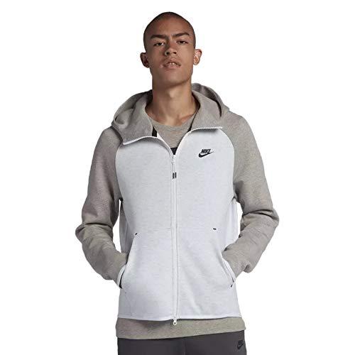 (Nike Tech Fleece Full-Zip Hoodie Mens Style : 928483-052 Size : L)