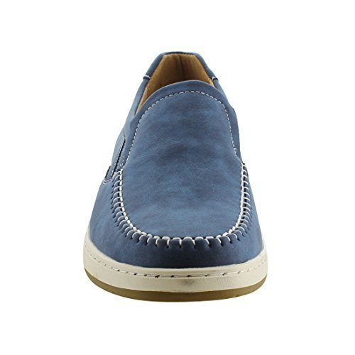 Arider AG64 Men's Slip On Mocassin Casual Flat Loafers Navy
