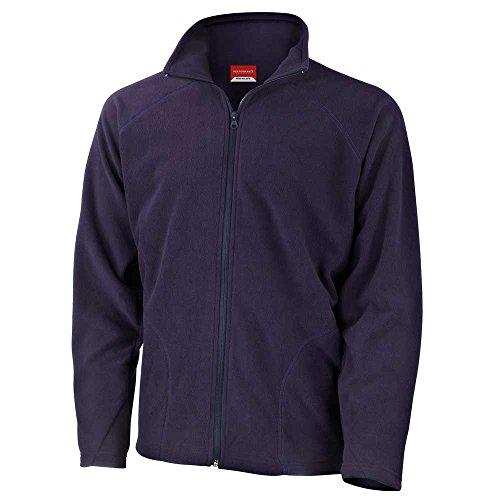 Fleece Micron Coat Jackets Winter Result Mens Azul q0FxPg5tw