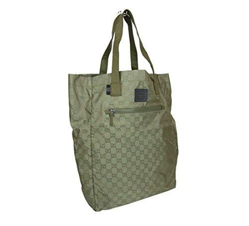 8de68636e0 Gucci Guccissima Nylon Handbag Viaggio Collection Tote Bag 308877 | Anna's  Collection
