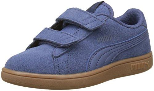 Niños Azul Sd Unisex V V2 Smash Puma peacoat blue Ps Zapatillas Indigo blue Indigo UqZ80nwx