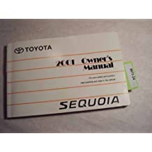 2001 Toyota Sequoia Owners Manual
