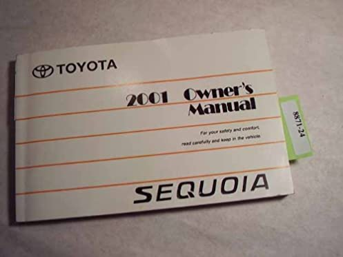 2001 toyota sequoia owners manual toyota amazon com books rh amazon com 2003 toyota sequoia owners manual toyota sequoia owners manual