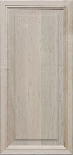 Unfinished Maple, Mitered Raised Panel Cabinet Door by Kendor, 36H x 17W by Kendor