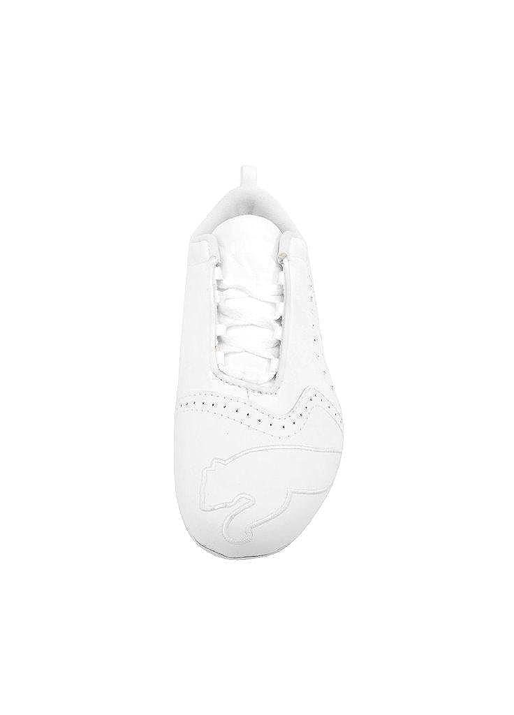 Puma Little White Diamond Rhinestone Sela Girl Shoes Sneakers Kid 1cJFKl