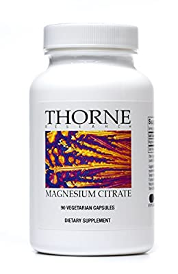 Thorne Research MAGNESIUM CITRATE, (90 caps) Pack of 2