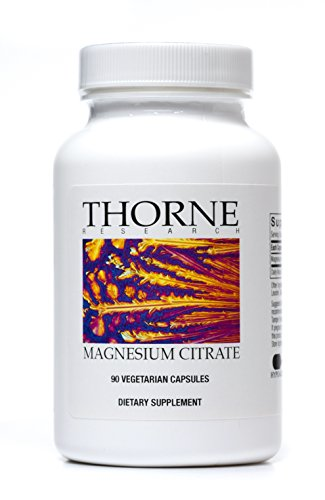Thorne Research - Magnesium Citrate -To Support Energy Production, Heart and Lung Function, and Metabolism of Sugar and Carbs - 90 Capsules