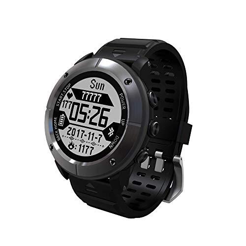 SMDFDN Outdoor Smart Watch,GPS Waterproof,Swimming Marathon Multi-function Intelligent Outdoor Sports Watch Heart Rate…