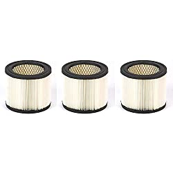Shop Vac 903-98 HangUp Wet/Dry Vacuum Cartridge Filter (3 Pack)