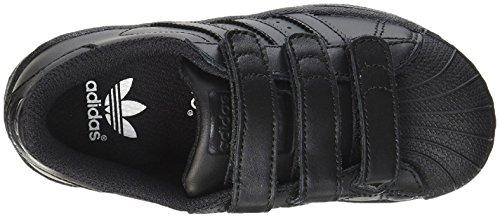 Black da Superstar C adidas Unisex Nero Core Bambini Foundation CF Scarpe – Fitness pXqB6