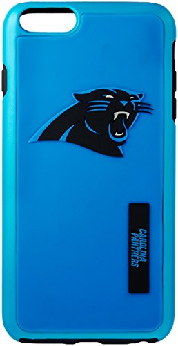 NFL Carolina Panthers IPhone 6 Plus Dual Hybrid Case (2 Piece), Blue