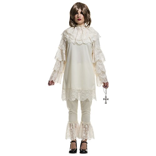 [Charades Womens Costume Vintage Wicket Doll Large] (Iron Man Girl Costume Party City)
