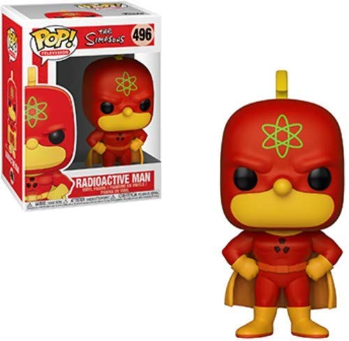 Funko The Simpsons: Homer Simpson - Radioactive Man Pop! Vinyl Figure (Includes Compatible Pop Box Protector Case)