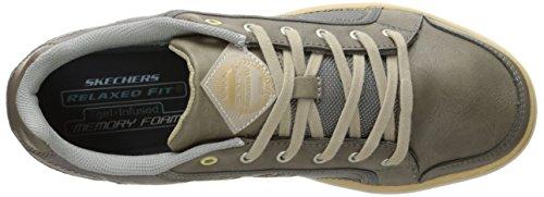 Zapatillas Skechers Ee. Uu. Para Hombre Palen Senden Walking Gris