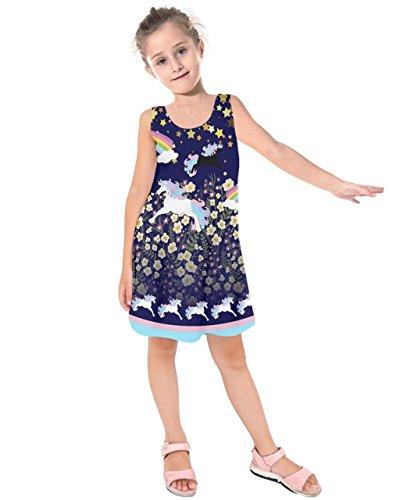 PattyCandy Girls Unique Unicorns & Florals Pattern Kids