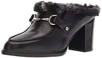 Aerosoles Women's Center City Mule, Black Leather, 6 M US