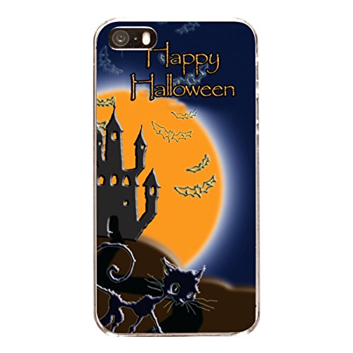 "Disagu Design Case Coque pour Apple iPhone 5 Housse etui coque pochette ""Halloween Night"""