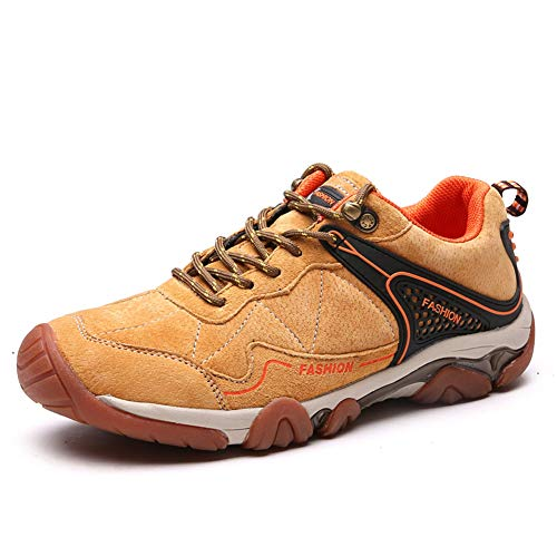 Boots Trekking Outdoor Running Backpacking Climbing FLARUT Sports Men yellow Sneakers Hiking Shoes C tY1tBqg0