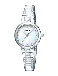 Lorus Analog Palladium Plated Mother of Pearl Watch