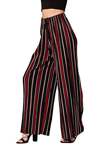 Pant Womens Pleated (Conceited Pleated Palazzo Pants for Women - ANP902-09-REG - One Size)