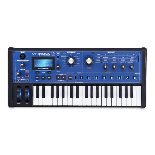 Novation MiniNova Analog Modeling Synthesizer (Best Mac Applications To Edit Photos)