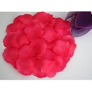 Vlonfine 1500pc Silk Rose Petals Wedding Flowers Favors 82