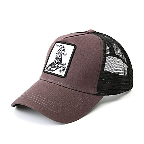 MKJNBH Baseball Cap Animal Embroidery Baseball Cap Men Women Summer Fashion Personality Hat Street Dance Hip Hop Cap