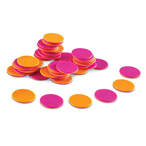 Learning Resources Two-Color Counters, Set of 200 ()