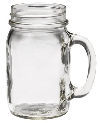 Jarden Home Brands 41702 16 oz. Golden Harvest Mason Jar Drinking Mug (Pack of 24)