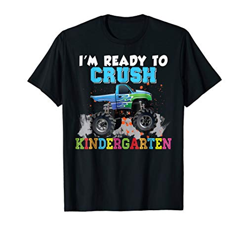 - I'm Ready To Crush Kindergarten T-Shirt Back To School Kid 2