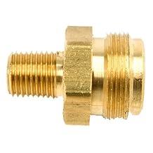 Mr. Heater F273755 1/4-Inch Male Pipe Thread x 1-Inch-20 Male Throwaway Cylinder Thread Fitting