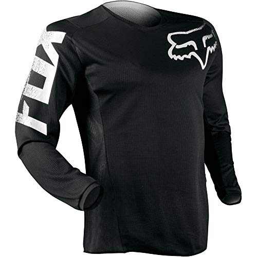 Youth Off Road Mens Jerseys - Fox Racing Blackout Motocross Offraod Jersey- Large